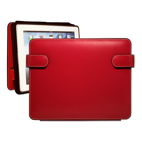 Milano Collection #3538 iPad Cover w/Snap Closure in scratch resistant leather.