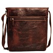 Jack Georges Voyager Small Crossbody Bag in vegetable re-tanned buffalo leather.