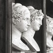 Marble busts: Inspiration for the Antionio Canova Limited Edition.