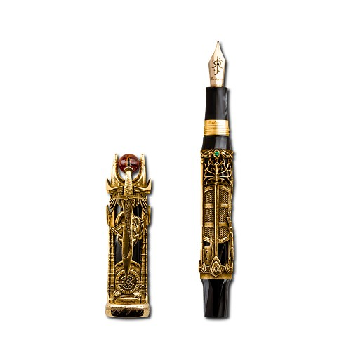 Montegrappa Lord of the Rings Fountain Pen - 18k Gold - Limited Edition