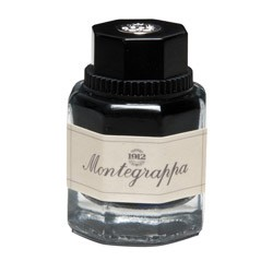 Montegrappa Blue Fountain pen Ink in 42ml bottles.