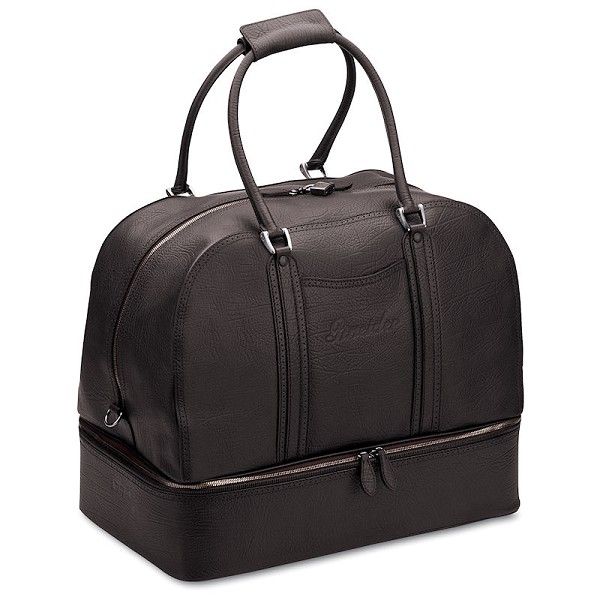 Pineider 1774 Leather Sports Bag