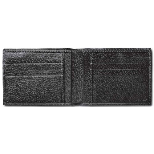 The Pineider Country Leather Men's Bi-Fold Wallet is handmade in the popular smooth hammered calfskin. Standard colors are Black, Brown, Red, Yellow, and Oak.