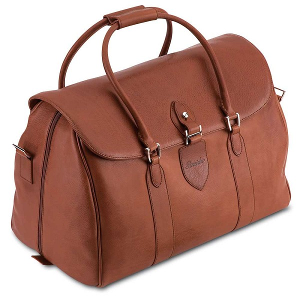 Pineider Country Leather Travel Bag