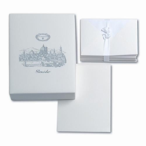 Pineider Florentia Stationery Box - 50 Sheets + 50 Envelopes - Form A5