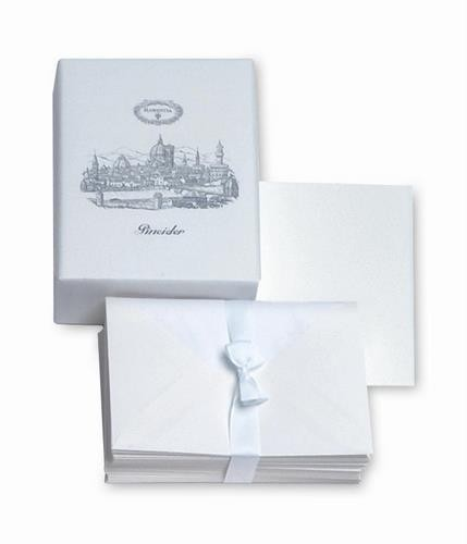 Pineider Florentia Stationery Box - 25 Cards + 25 Envelopes - Form 20