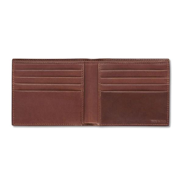 eab2decb6284 Pineider Power Elegance Mens Small Leather Wallet - Bifold