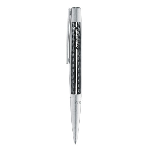 McLaren Defi Carbon Finish Ballpoint Pen limited edition with carbon leather.
