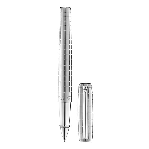 Line D Ceramium ACT Metal Rollerball Pen resists shocks, sratches and is lightweight.