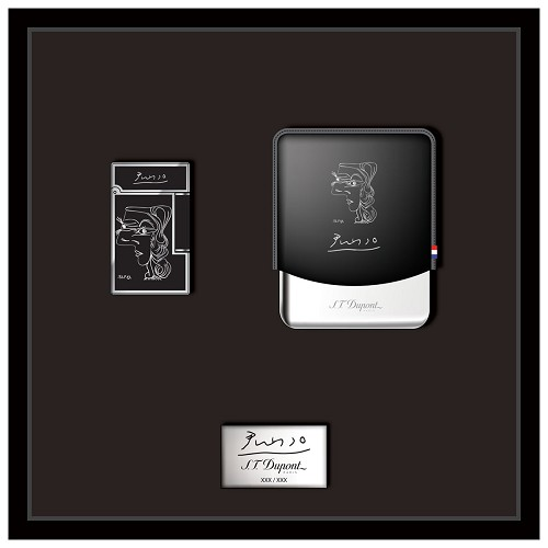 ST Dupont Picasso Smoking Kit - Profil de Femme - Limited Edition