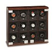 Underwood Briarwood Twelve Module.  The Briarwood collection offers everything from a single watch winder case to a Twenty Module Cabinet.