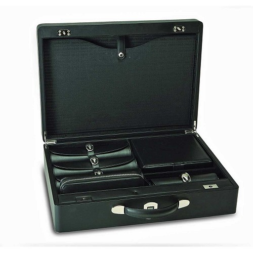 Underwood Biometric Security Briefcase is custom produced with a customer specified interior. Luxurious, elegant, and secure storage for documents, jewelry, watches and valuables.