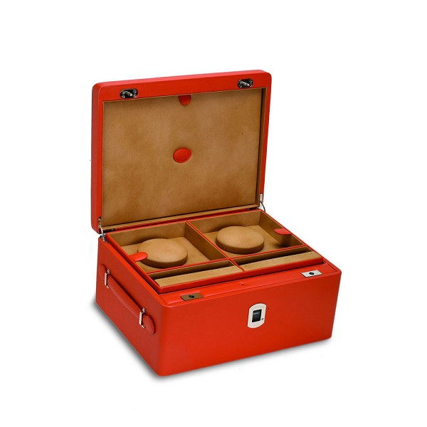 Underwood Biometric Watch and Jewelry Case - Three Trays