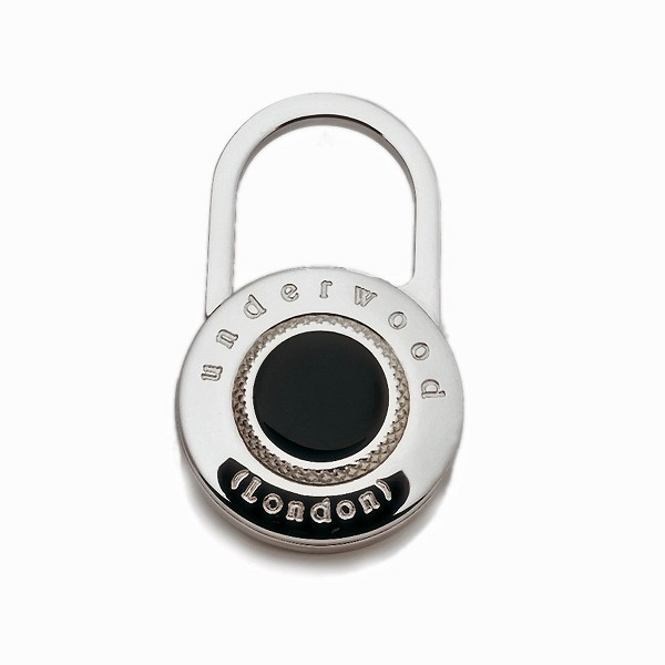 Underwood Metal Lock Key Ring