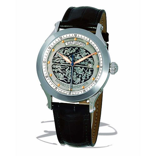 Zannetti Regent Brain Orgy Men's Watch - Black
